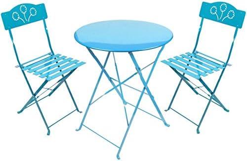 Promobo – Set conjunto terraza de restaurante de mesa de metal dos ...