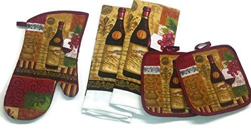 Wine Lovers Kitchen Linen Set