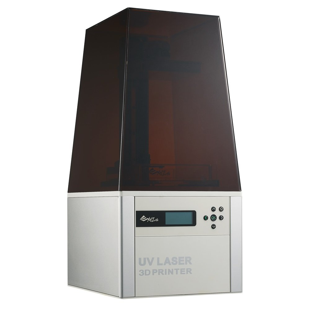 best home printer for printing wedding invitations%0A  Open Resin  XYZprinting Nobel     SLA  D Printer  Included FREE Resin   FREE Printing Platform  u     Tank   Amazon com