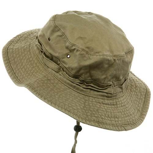 68a1ef8c Extra Big Size Fishing Hats-Khaki (For Big Head) - Import It All