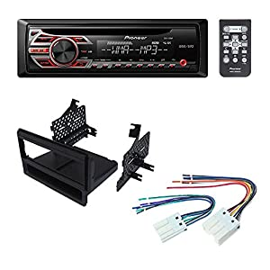 NISSAN FRONTIER PATHFINDER, PATHFINDER S , XTERRA 2005- 2007 CAR STEREO RADIO DASH INSTALLATION MOUNTING KIT W/ WIRING HARNESS RADIO ANTENNA ADAPTER