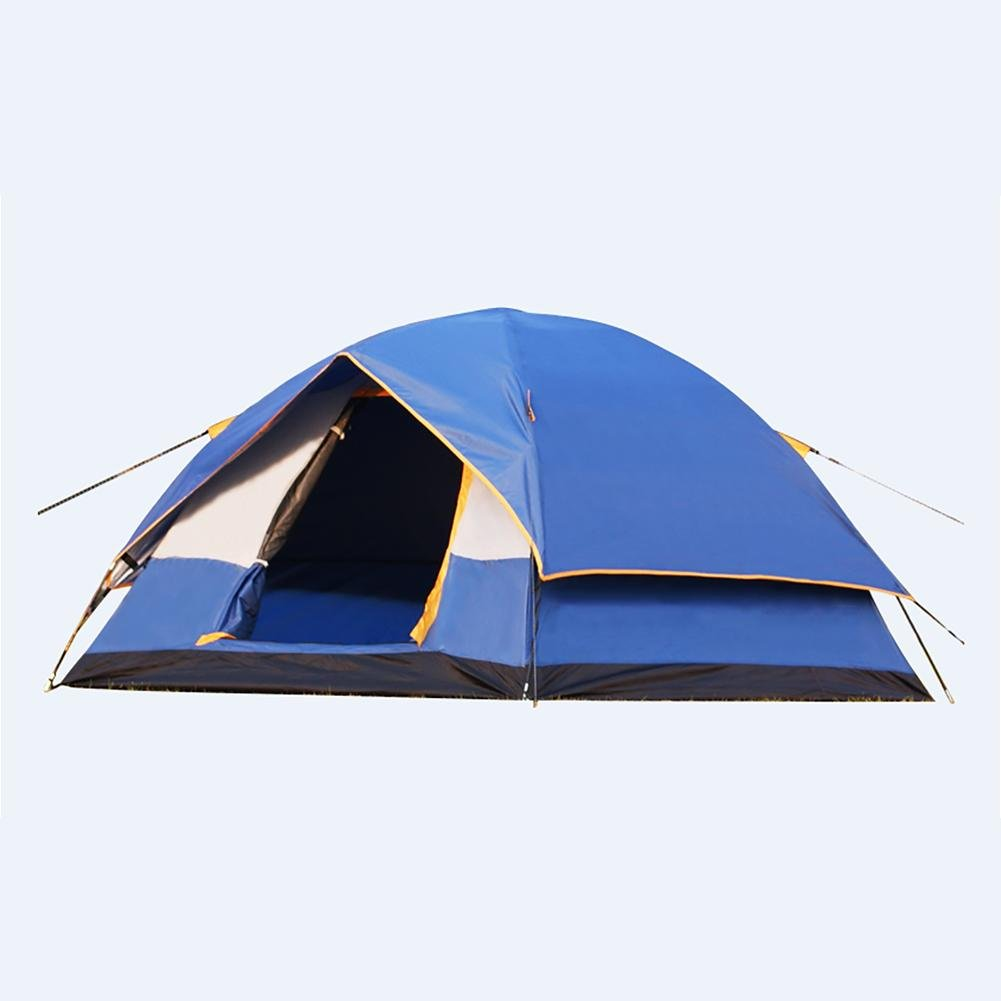 MIAO Outdoor 3-4 Personen Camping Rain Prevention Oxford Automatische Cloth Automatische Oxford Zelte 3d09f7