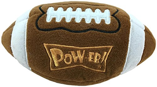 Lulubelles Power Plush Football Dog Toy - Large