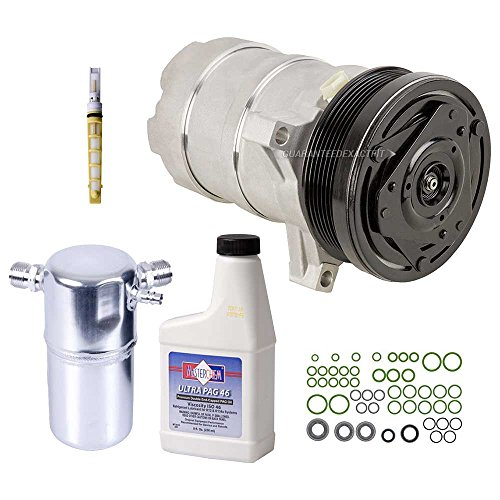 Eldorado Compressor Ac Cadillac (New AC Compressor & Clutch With Complete A/C Repair Kit For Cadillac Eldorado - BuyAutoParts 60-80192RK New)