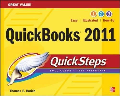 QuickBooks 2011 QuickSteps-cover
