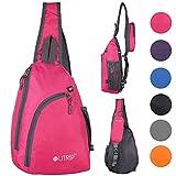 Sling Shoulder Backpack Travel Chest Bags Crossbody Hiking School Men Women Girl