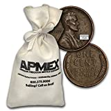 1909 - 1958 Wheat Cent 5,000-Count Bags Cent Very Fine