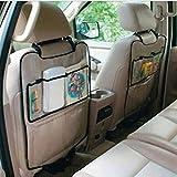 Susenstone Car Auto Seat Back Protector Cover For Children Kick Mat Storage Bag