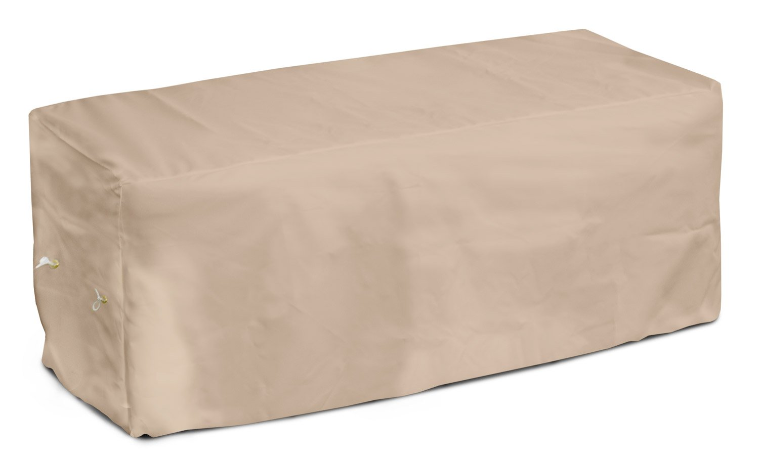 KOVERROOS Weathermax 44207 8-Feet Bench Cover, 96-Inch Width by 25-Inch Diameter by 36-Inch Height, Toast