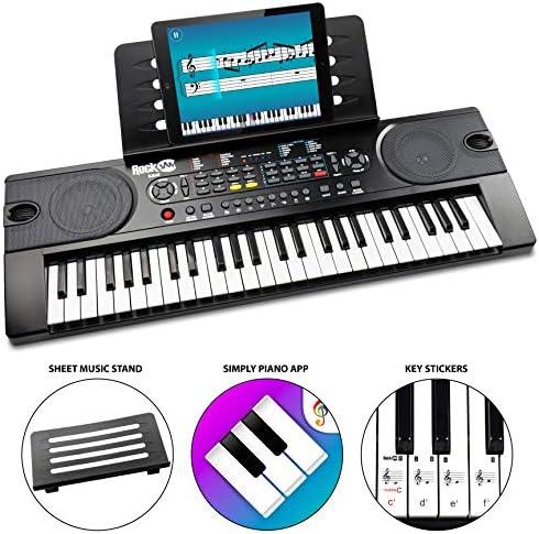 RockJam RJ549 Portable Electric Keyboard product image