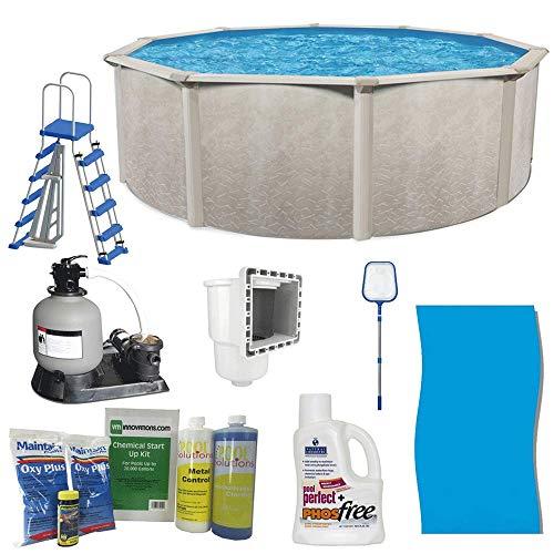 Kits Ground Above Pool - Cornelius Pools Phoenix 24' x 52