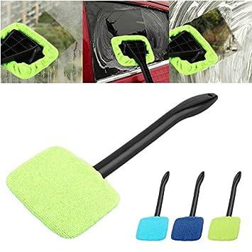 1 cepillo limpiador de limpiaparabrisas para coche, fácil de limpiar, limpiador de cristal, cepillo de limpieza práctico o de tono.