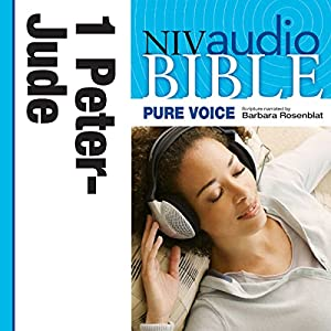 NIV New Testament Audio Bible, Female Voice Only: 1 and 2 Peter, 1, 2 and 3 John, and Jude Audiobook