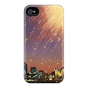 Awesome Fireworks Flip Case With Fashion Design For Iphone 4/4s Kimberly Kurzendoerfer