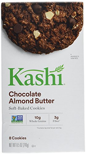 Kashi Almond Butter Cookie, Chocolate, 8.5-Ounce (Pack of - Chocolate Almond Chip Cookies