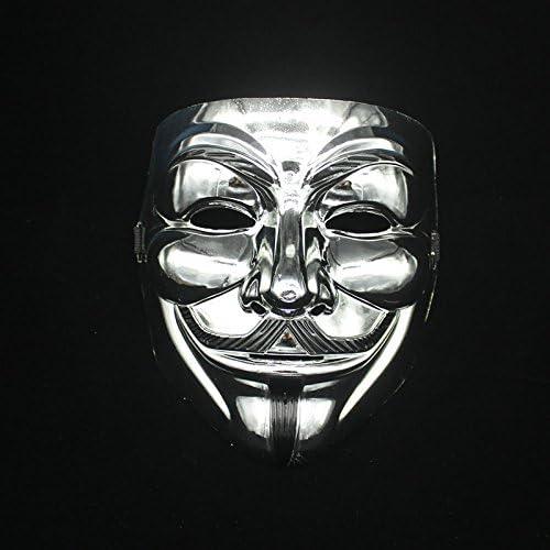 Amazon Com Hongfei Creative Gold Silver V For Vendetta Guy Fawkes