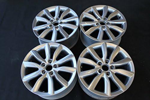 Juego de llantas originales para Audi A3 8P Golf 5 6 8P0601025CD 17 pulgadas 287-B2: Amazon.es: Coche y moto