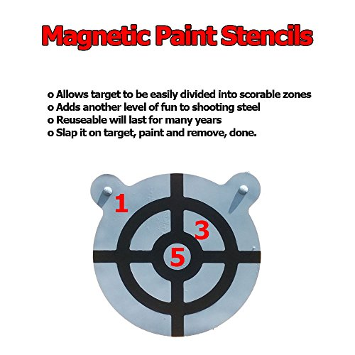 85%OFF Magnetic Painting Stencils For Steel Targets