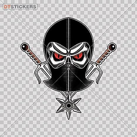 Amazon.com: Vinilo calcomanía Adhesivos Ninja Warrior ...