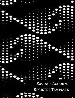 amazon com mini savings account register template 9781521249499