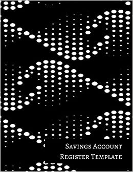 buy savings account register template book online at low prices in