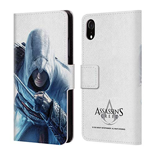 Official Assassin's Creed Altaïr Hidden Blade Key Art Leather Book Wallet Case Cover Compatible for iPhone ()