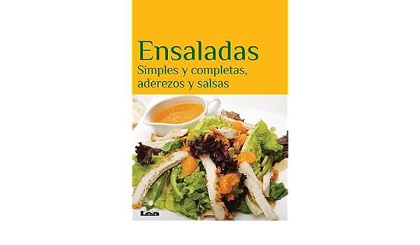 Simples y completas, aderezos y salsas eBook: Eduardo Casalins: Amazon.es: Tienda Kindle