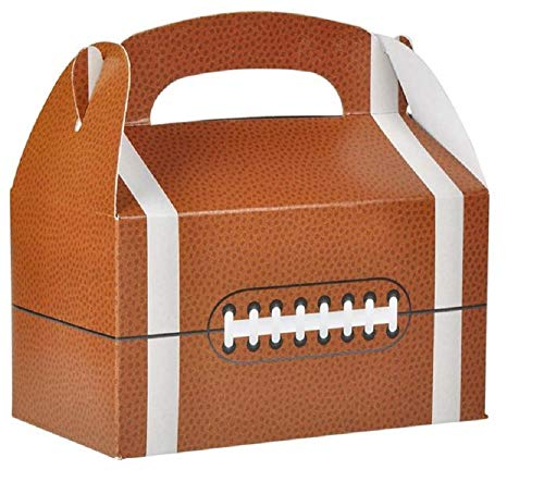 Sports Ball Treat Box for Birthday Party Favors, Decorations and Gifts (Set of 12) ()