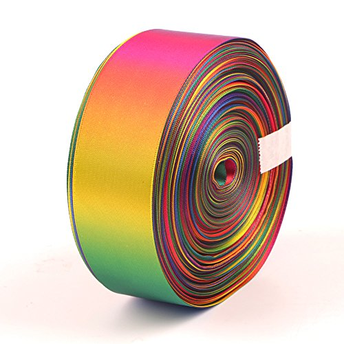 Rainbow Ribbon Double Side Colorful Printed 2