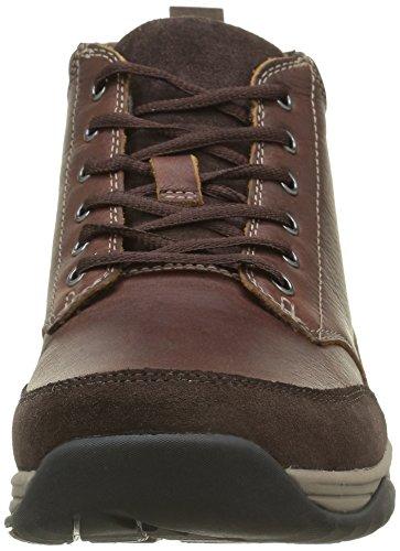 Clarks Baystonetopgtx, Botines para Hombre Marrón (Warm Lined Leather)