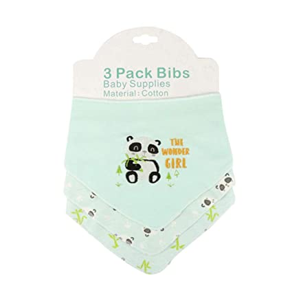 20PCS Baby Bibs Newborn Boys Girls Toddler Disposable Drool Bib Waterproof Back
