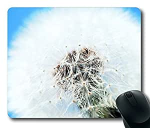Perfect White Dandelion Flower Masterpiece Limited Design Oblong Mouse Pad by Cases & Mousepads