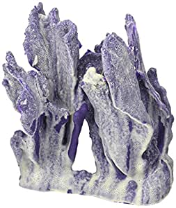 Deep Blue Professional ADB80022 Ridge Coral for Aquarium, 9.5 by 6 by 9.5-Inch, Blue