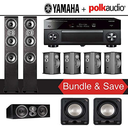 Polk Audio TSi 400 7.2-Ch Home Theater Speaker System with Y