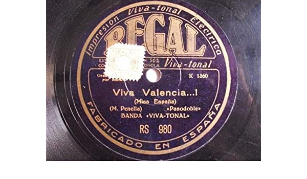 Antiguo Disco Pizarra - Old Disc Slate: BANDA VIVA TONAL ...