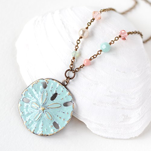 Sand Dollar Nautical Pendant - 4