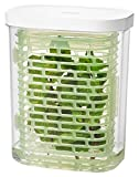 OXO 11212200 11212200MLNYK Plastic Herbs Storage Container, Small, Green