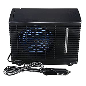 Evaporative Air Conditioner 12V 3A Portable Car/Home Cooler Cooling Fan Water Ice Mini Unique Compact