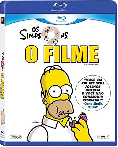 Blu-ray Os Simpsons O Filme [ Brazilian Edition ] [ The Simpsons Movie ] [ Audio and Subtitles in English + Portuguese + Spanish ] ()