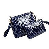 Best Pu Leather Shoulder Bags Satchel Clutch Womens Handbag Tote Purse Messengers - HITSAN INCORPORATION Women Handbag PU Leather Shoulder Bag Review