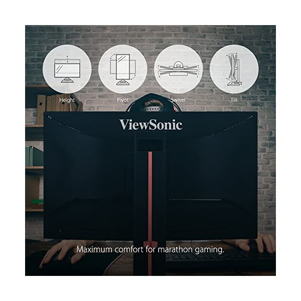 ViewSonic XG2401 24-inch Full HD Gaming Monitor (Black)