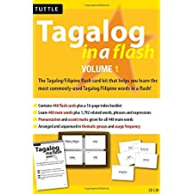 Tagalog in a Flash Kit Volume 1 (Tuttle Flash Cards)
