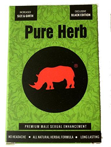 Rhino Black Pure Herb Man Sex Enhancement Pills (10)