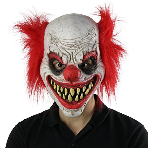 Best Scary Halloween Costumes Ever - FantasyParty Halloween Creepy Mask Costume Party
