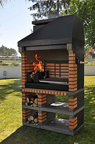 Sartén para mampostería de ladrillos American barbacoa - lo último en la madera a la vez