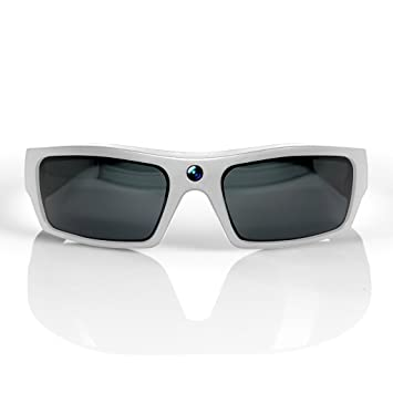 b14d1126869 GoVision SOL 1080p HD Camera Glasses Video Recording Sport Sunglasses with  Bluetooth Speakers and 15mp Camera