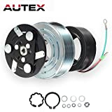 ac clutch assembly - AUTEX AC A/C Compressor Clutch Assembly Kit 38800RZYA010M2 80221SNAA01 8851502200 Replacement for 2007 2008 2009 2010 2011 2012 2013 2014 HONDA CR-V