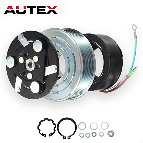 Compressor Air Honda Conditioning (AUTEX AC A/C Compressor Clutch Coil Assembly Kit 38800RZYA010M2 80221SNAA01 8851502200 Replacement for 2007 2008 2009 2010 2011 2012 2013 2014 HONDA CR-V)