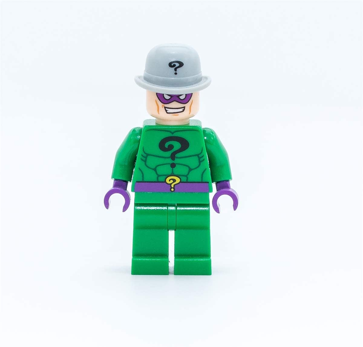 LEGO DC Comics Super Heores Minifigure The Riddler with Crowbar