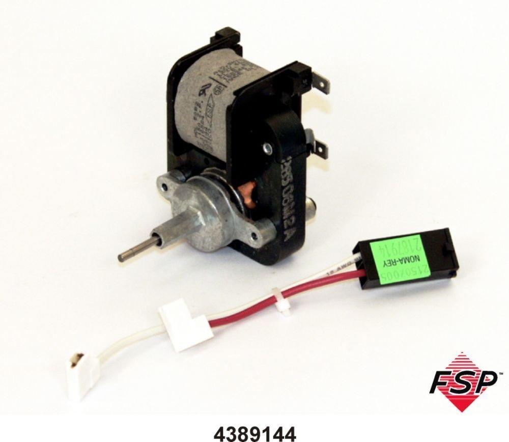 "Whirlpool Factory Oem 4389144 For 2149299 Evaporator Fan Motor"""